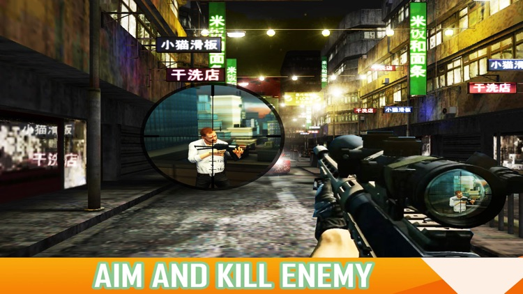 X Sniper - Dark City Shooter 3D