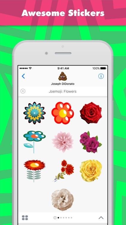 Joemoji: Flowers stickers by Joemoji