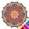 nature mandala coloring book art therapy for adult