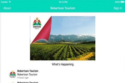 Robertson Tourism - náhled