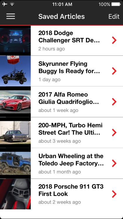 MOTOR TREND News screenshot-2