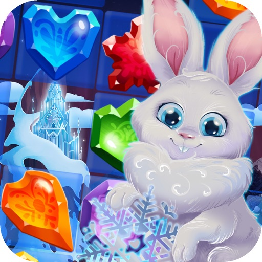 Bunny Frozen Jewels Match 3