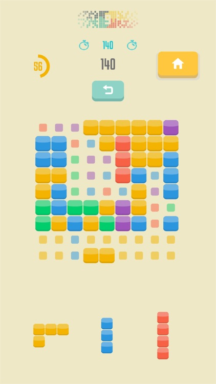 9squared! - Stack and match colored blocks puzzle screenshot-4