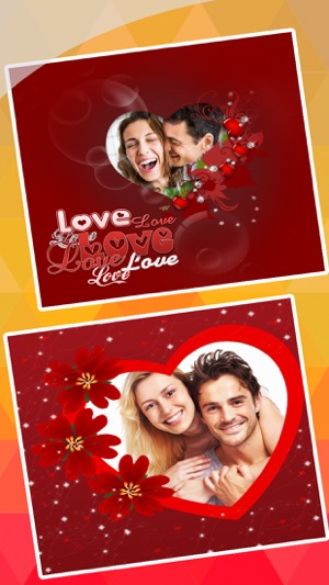 valentine s day love cards romantic photo frame on the app store
