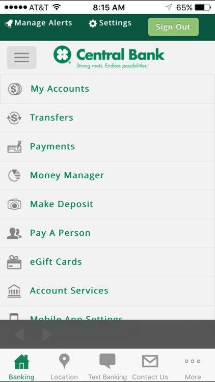 Central Bank - Mobile screenshot-3
