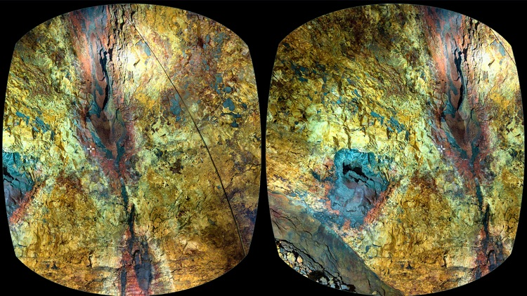 VR Inside a Volcano Island Virtual Reality 360 screenshot-3