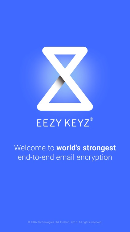 EEZY KEYZ® email encryption screenshot-0