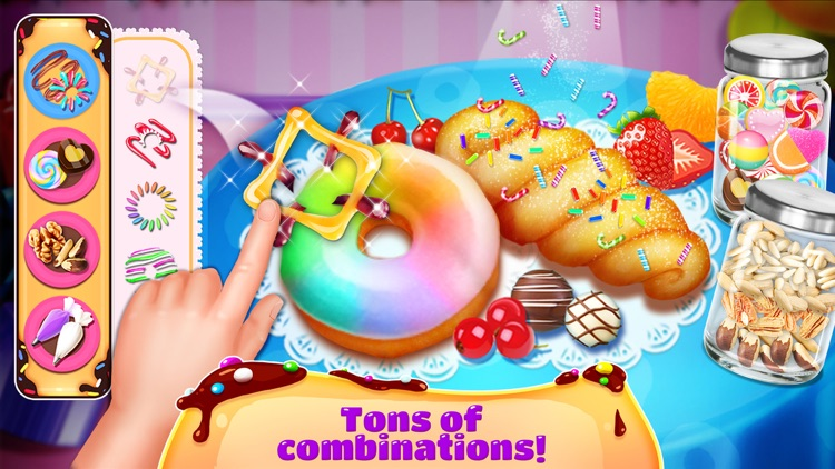 Donuts Maker - Free Food Maker Sweet Cooking Games screenshot-1
