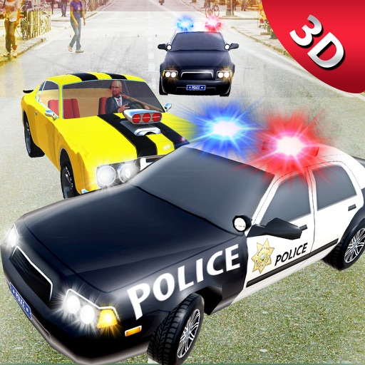 City Police Car Chase Smash 3D: Xtreme Driving Sim By