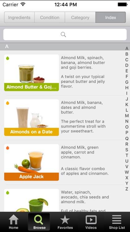 101 Smoothie Recipes screenshot-3