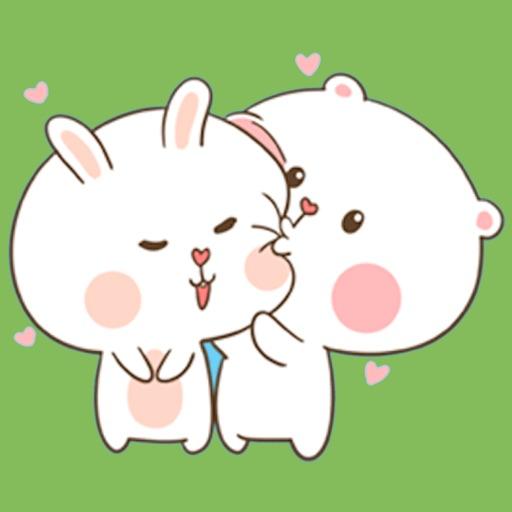 Fluffy Bear and Rabbit