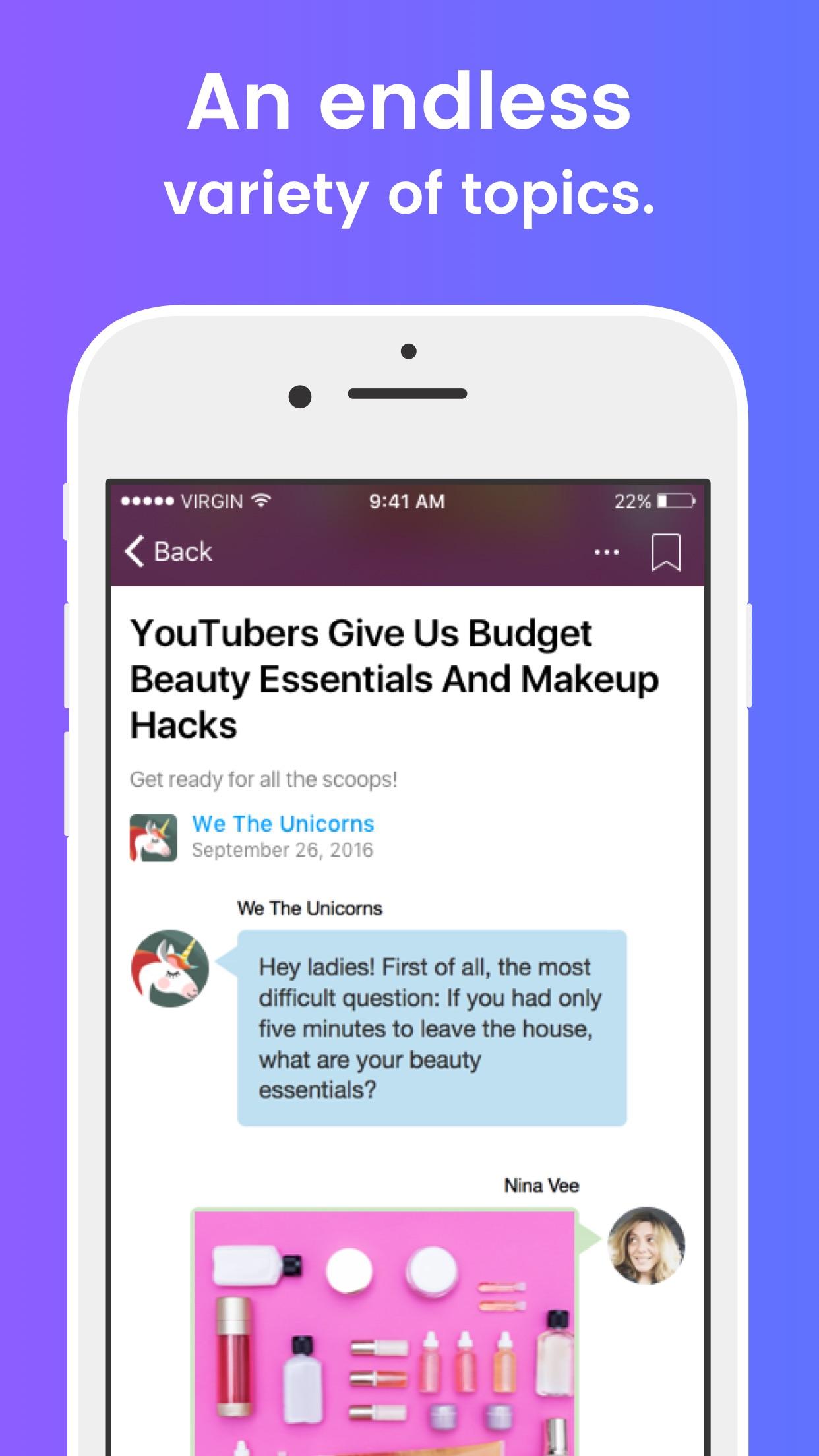 Playbuzz Screenshot
