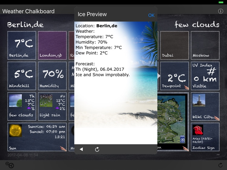 Weather Chalkboard screenshot-2