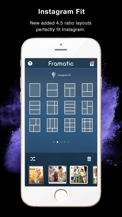 Framatic Pro - Photo Collage App screenshot-1