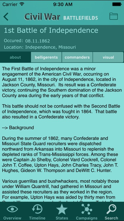Civil War Battlefields screenshot-4