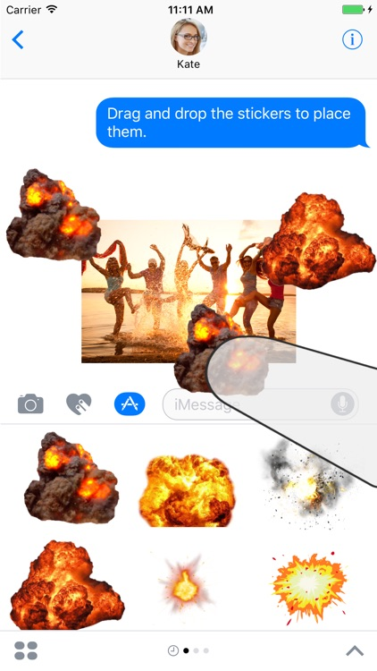 Ultimate Explosions Sticker Pack