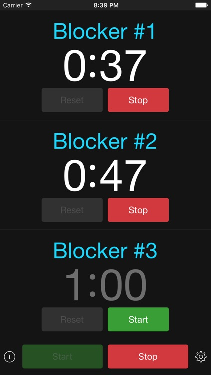PenaltyTimer screenshot-0