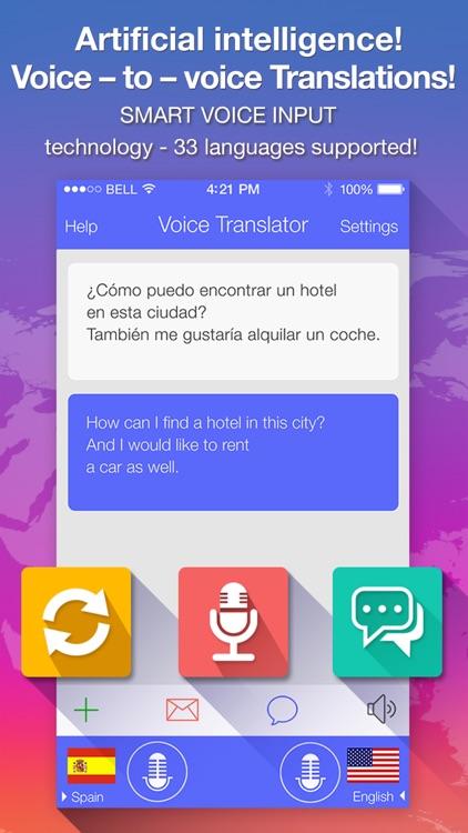 Voice Translate + translator