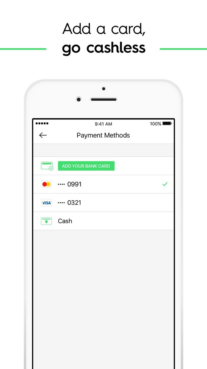 Taxify Screenshot