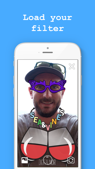Snapcheck - Test geo-filter graphics with ease! screenshot one