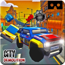 VR Monster Prado City Demolition Pro