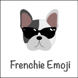 Frenchie Emoji - emoji app for French bulldogs