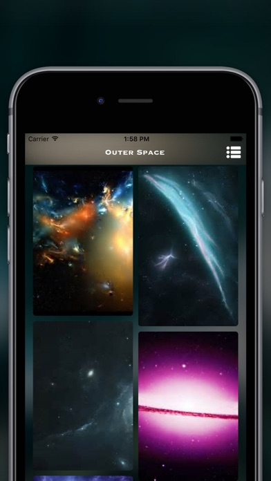 Galaxy Space Live Wallpapers HD screenshot two