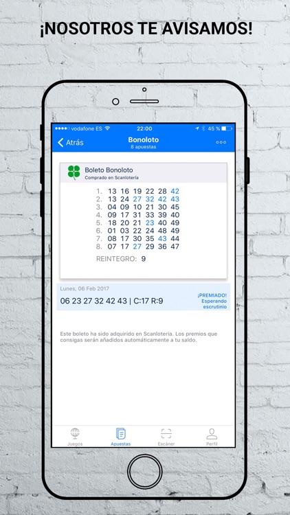 ScanLotería - Escáner Lotería screenshot-4