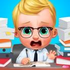 Baby Boss - Dream Job Face Changer Salon Game icon