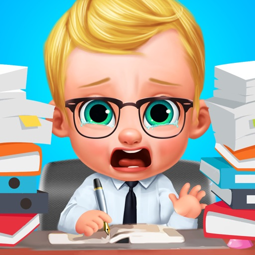 Baby Boss - Dream Job Face Changer Salon Game iOS App