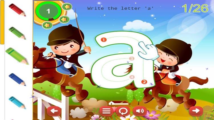 ABC Letters Tracing Handwriting Preschool Practice