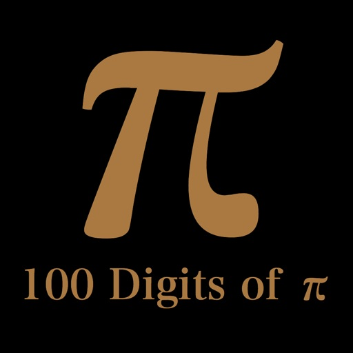 円周率100桁 ~ 100 Digits of π ~