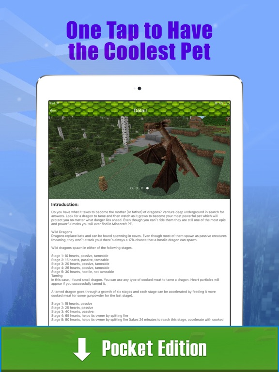 Dragon & Dinosaur Addons Free for Minecraft PE | App Price Drops