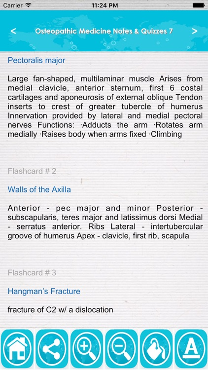 Osteopathic Medicine Exam Review App: Study Notes