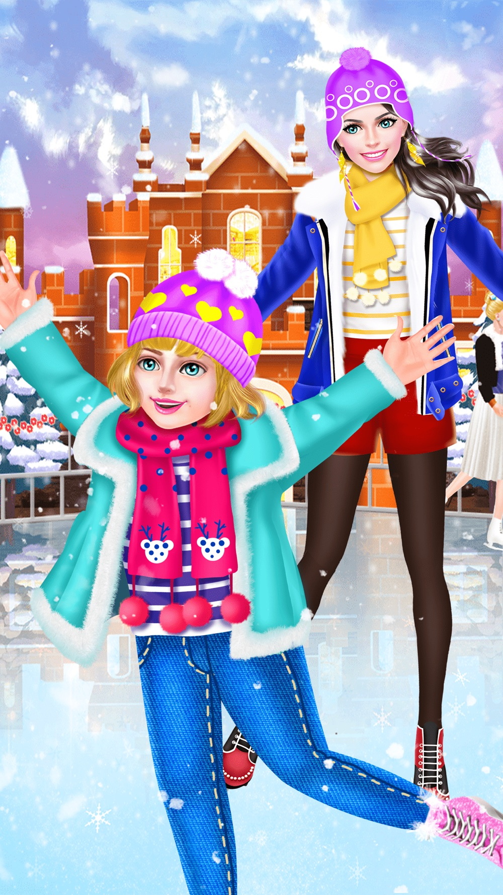 Mommy & Daughter Ice Skating Spa – Family Makeover Cheat Codes