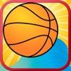 ビーチバスケットボールフリック - マルチプレイヤーアーケードXゲーム