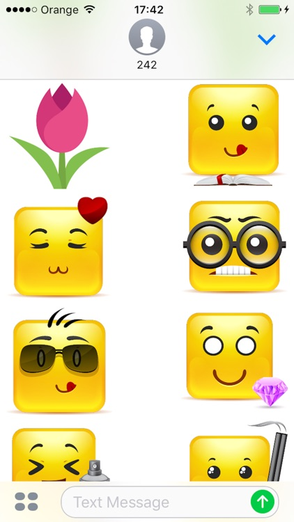 Big Sticker Pack For iMessage