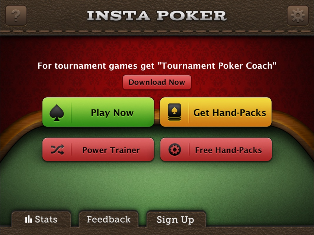 The #1 Texas Holdem poker coaching app where top pros evaluate your every  move and reward you for making quality decisions. Check out what reviewers  are ...