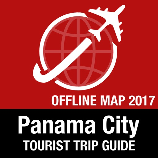 Panama City Tourist Guide + Offline Map