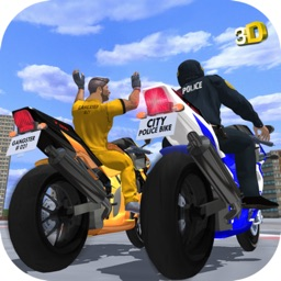 Police Bike - Gangster Racer