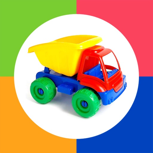 Toddler Games - Learn First Words with Photo Touch