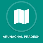 Arunachal Pradesh, India : Offline navigazione GPS icon
