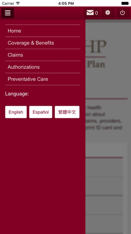 CCHP Member App screenshot-3
