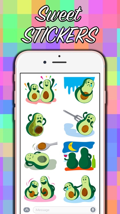 Avocado Party > Cool Stickers!