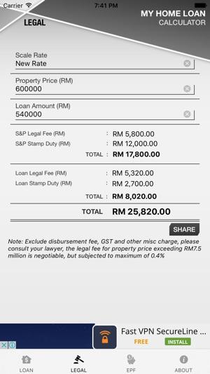 house loan calculation