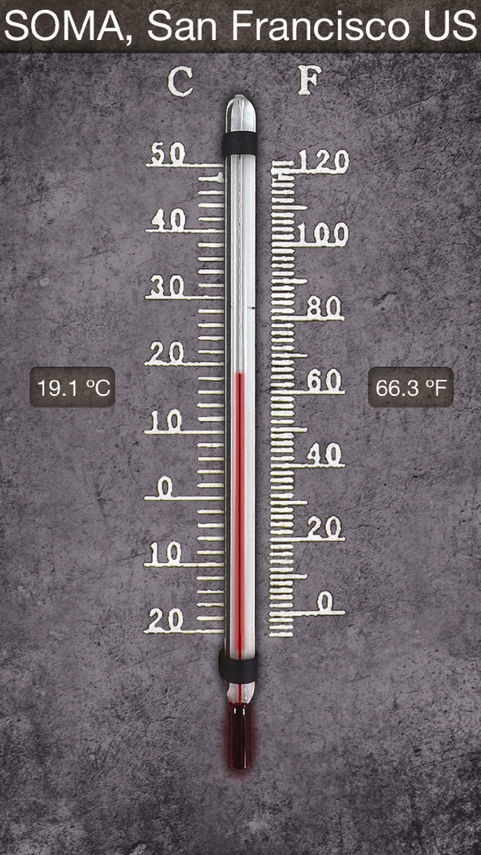 HD Thermometer Screenshot