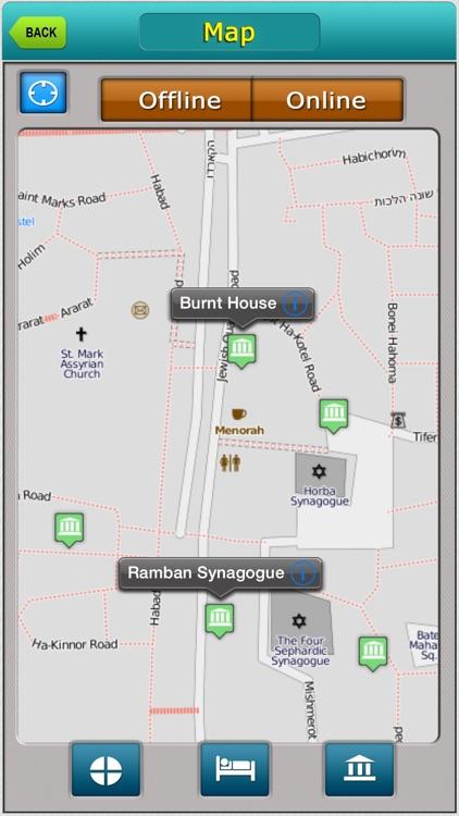 Jerusalem City Map Guide
