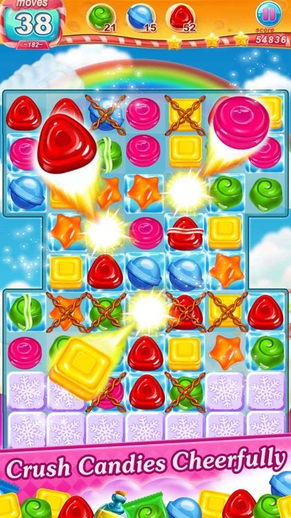 Cookie Sweet Legend - Match 3 screenshot-4