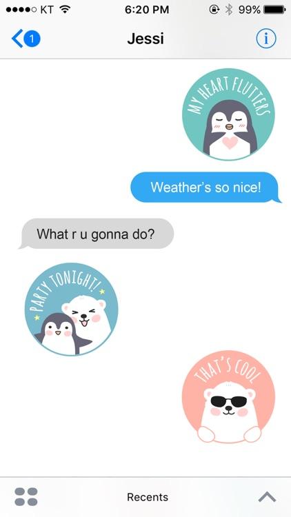 Animal stamps sticker pack screenshot-4