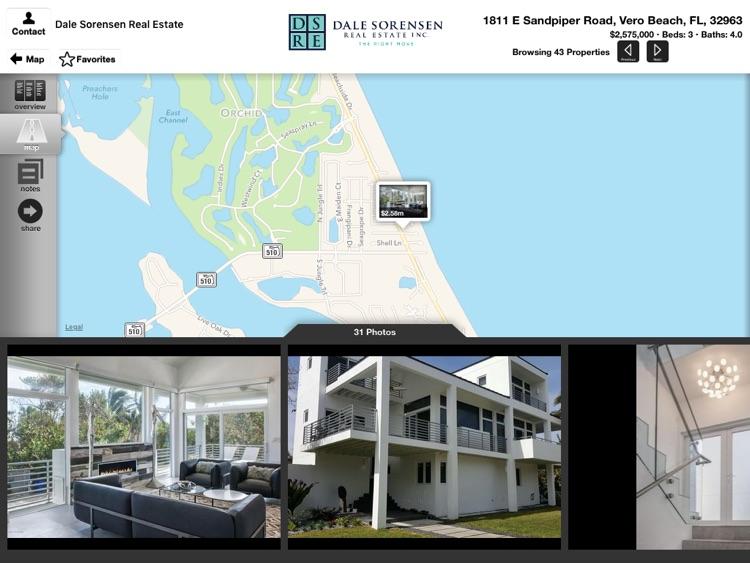 Dale Sorensen Real Estate for iPad